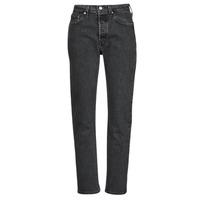 textil Dame Jeans - boyfriend Levi's 501 CROP Sort