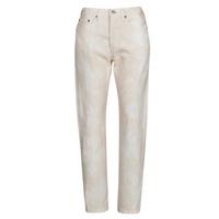 textil Dame Jeans - boyfriend Levi's 501 CROP Fersken