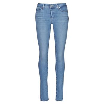 textil Dame Jeans - skinny Levi's 711 SKINNY Blå