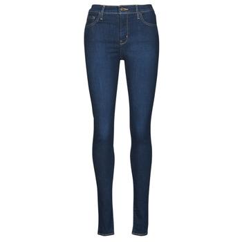 textil Dame Jeans - skinny Levi's 720 HIRISE SUPER SKINNY Blå