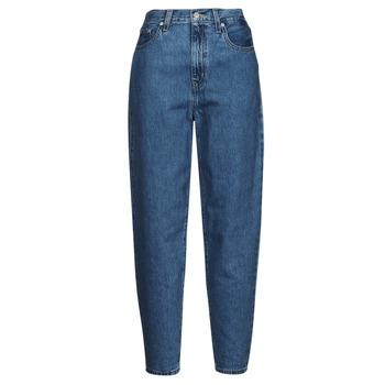 textil Dame Jeans - boyfriend Levi's HIGH LOOSE TAPER Blå