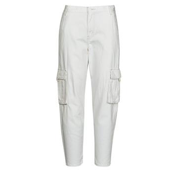 textil Dame Cargo bukser Levi's LOOSE CARGO Beige
