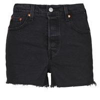 textil Dame Shorts Levi's RIBCAGE SHORT Sort