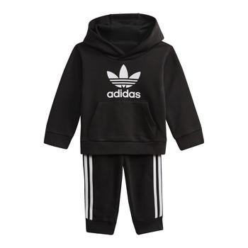 textil Børn Sweatshirts adidas Originals DV2809 Sort