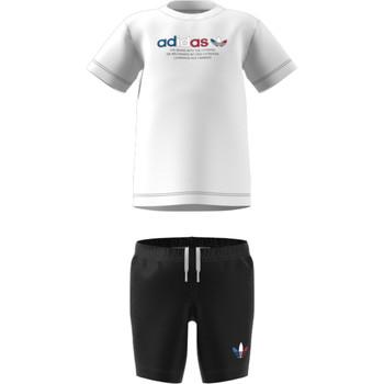 textil Børn Sæt adidas Originals GN7413 Hvid