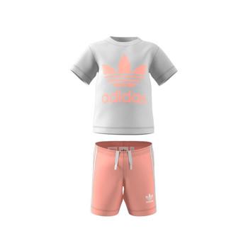 textil Børn Sæt adidas Originals GN8192 Hvid
