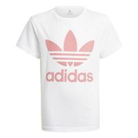 textil Børn T-shirts m. korte ærmer adidas Originals GN8213 Hvid