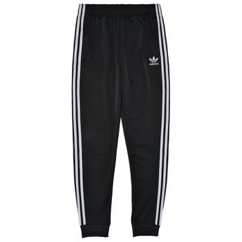 textil Børn Træningsbukser adidas Originals GIANNY Sort