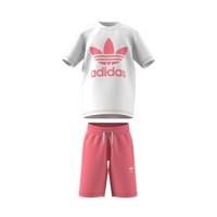 textil Børn Sæt adidas Originals GP0195 Hvid