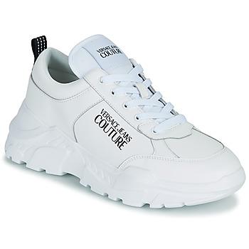 Sko Herre Lave sneakers Versace Jeans Couture MINOTA Hvid