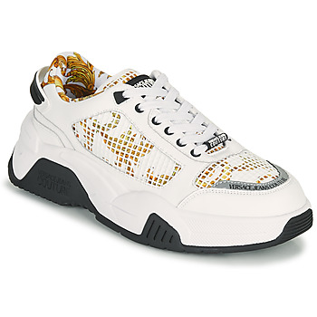 Sko Herre Lave sneakers Versace Jeans Couture HATINA Hvid / Guld