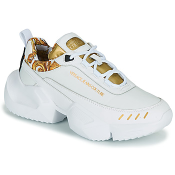 Sko Herre Lave sneakers Versace Jeans Couture FILONE Hvid / Guld