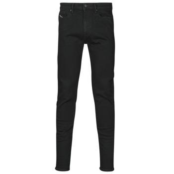textil Herre Jeans - skinny Diesel D-AMNY-SP4 Sort