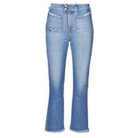 textil Dame Bootcut jeans Diesel D-EARLIE-H Blå