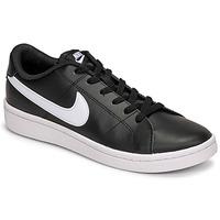 Sko Herre Lave sneakers Nike COURT ROYALE 2 LOW Sort / Hvid