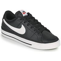 Sko Dame Lave sneakers Nike COURT LEGACY Sort / Hvid
