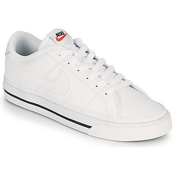 Sko Dame Lave sneakers Nike COURT LEGACY Hvid