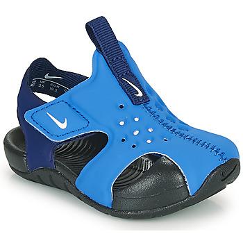 Sko Dreng badesandaler Nike SUNRAY PROTECT 2 TD Blå