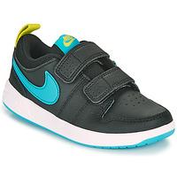 Sko Dreng Lave sneakers Nike PICO 5 PS Sort / Blå