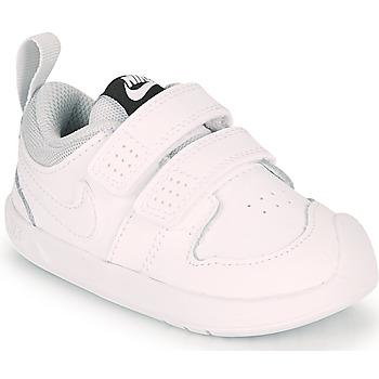 Sko Børn Lave sneakers Nike PICO 5 TD Hvid