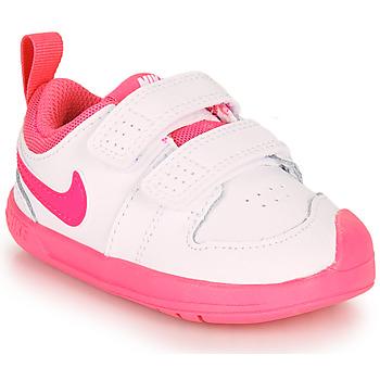 Sko Pige Lave sneakers Nike PICO 5 TD Hvid / Pink