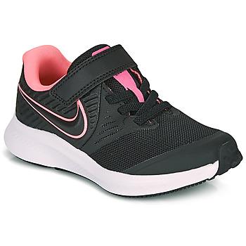 Sko Pige Multisportsko Nike STAR RUNNER 2 PS Sort / Pink