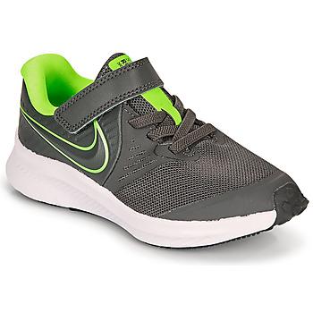 Sko Dreng Multisportsko Nike STAR RUNNER 2 PS Grå / Grøn