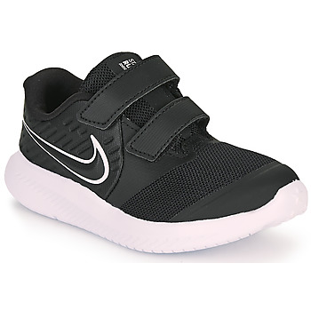 Sko Børn Multisportsko Nike STAR RUNNER 2 TD Sort / Hvid