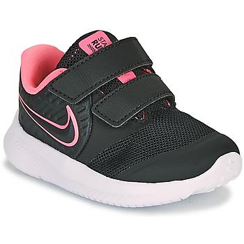 Sko Pige Multisportsko Nike STAR RUNNER 2 TD Sort / Pink