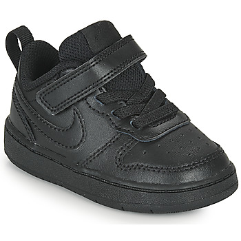 Sko Børn Lave sneakers Nike COURT BOROUGH LOW 2 TD Sort