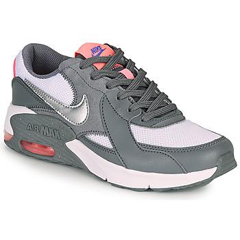 Sko Pige Lave sneakers Nike AIR MAX EXCEE GS Grå / Pink