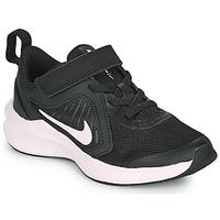 Sko Børn Multisportsko Nike Downshifter 10 PS Sort / Hvid