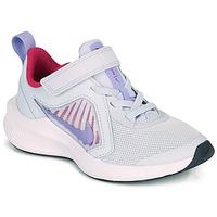Sko Pige Multisportsko Nike Downshifter 10 PS Blå / Violet