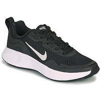 Sko Børn Multisportsko Nike WEARALLDAY GS Sort / Hvid