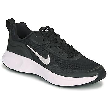 Sko Børn Multisportsko Nike WEARALLDAY PS Sort / Hvid