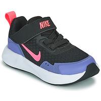 Sko Pige Multisportsko Nike WEARALLDAY TD Sort / Blå