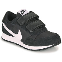Sko Børn Lave sneakers Nike MD VALIANT PS Sort / Hvid