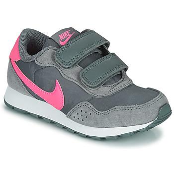 Sko Pige Lave sneakers Nike MD VALIANT PS Grå / Pink