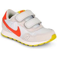 Sko Pige Lave sneakers Nike MD VALIANT PS Beige / Rød
