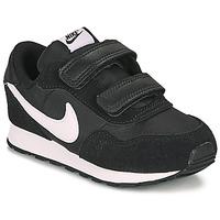 Sko Børn Lave sneakers Nike MD VALIANT TD Sort / Hvid