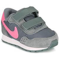 Sko Pige Lave sneakers Nike MD VALIANT TD Grå / Pink