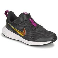 Sko Pige Lave sneakers Nike REVOLUTION 5 SE PS Sort