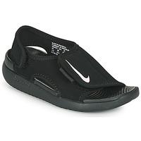Sko Børn badesandaler Nike SUNRAY ADJUST 5 V2 PS Sort