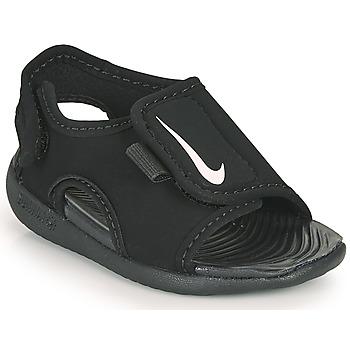 Sko Børn badesandaler Nike SUNRAY ADJUST 5 V2 TD Sort
