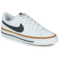Sko Børn Lave sneakers Nike NIKE COURT LEGACY Hvid / Sort