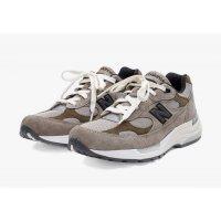 Sko Lave sneakers New Balance JJJJound x New Balence 992 Beige Beige - Grey
