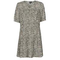 textil Dame Korte kjoler Vero Moda VMELIN Beige