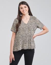textil Dame Toppe / Bluser Vero Moda VMELIN Beige