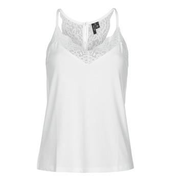 textil Dame Toppe / T-shirts uden ærmer Vero Moda VMANA Hvid