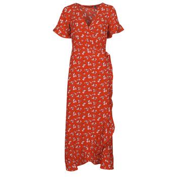 textil Dame Lange kjoler Vero Moda VMSAGA Rød